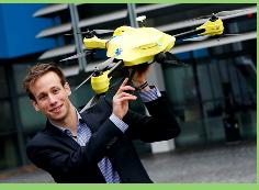 """Presentan en Holanda un primer prototipo de un """"dron ambulancia"""""""