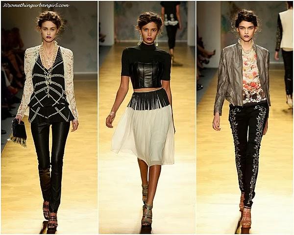 NicoleMiller S/S2014 runway dresses