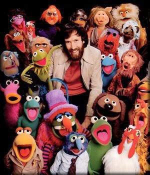 Jim Henson, creator of the Muppets, father of John Henson