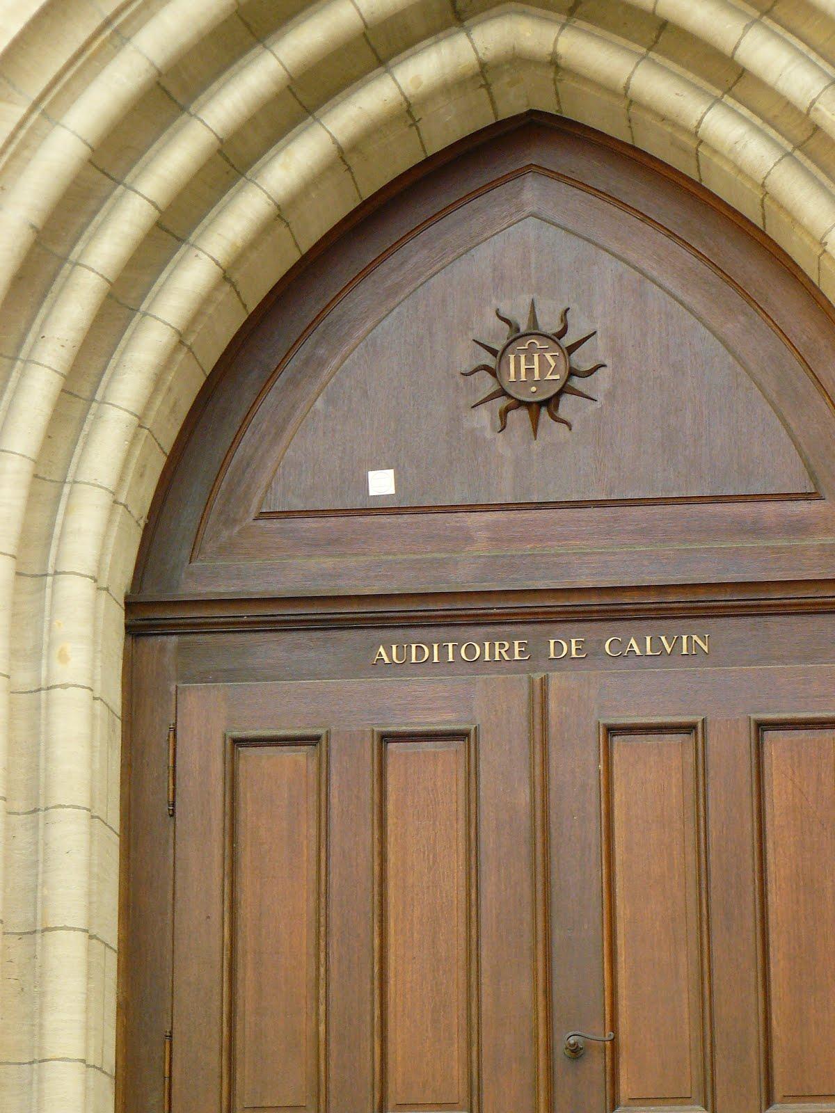 Auditoire de Calvin, Genève, Suisse