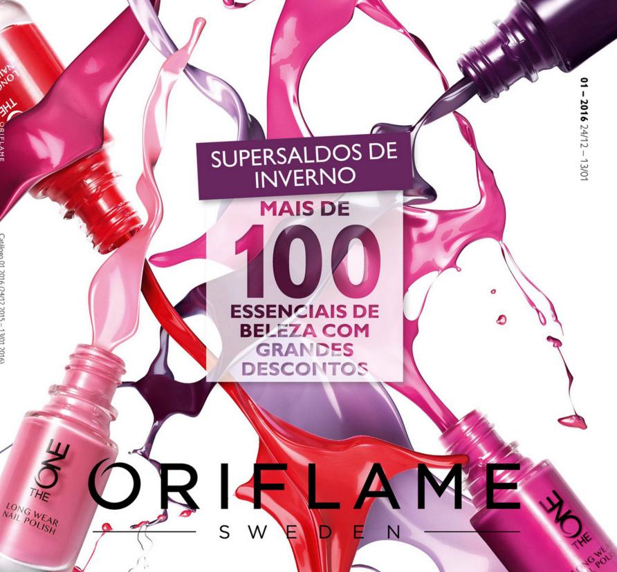 Catálogo 01 de 2016 da Oriflame