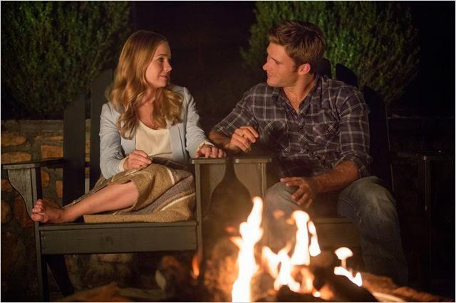 """Britt Robertson y Scott Eastwood en """"El viaje más largo"""""""
