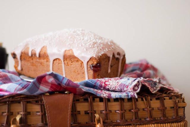 coconut, strawberry, loaf, cake, recipe, blog, blogger, uk, food
