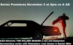 A&E SERIES 'THE KILLING SEASON' PREMIERES SATURDAY NOVEMBER 5th AT 9:00 PM