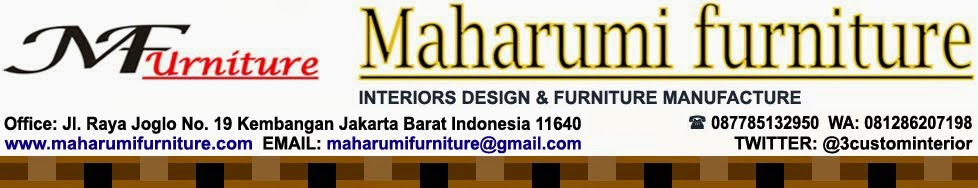 Maharumi Furniture - Workshop Custom Desain Interior Design Bengkel Produksi Kontraktor Vendor Meub