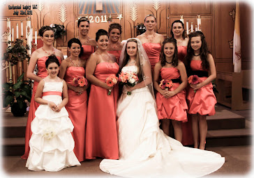 Lynnette and her Bridal Party