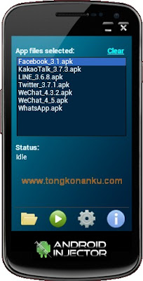Android Injector - cara Instal aplikasi apk android langsung dari PC