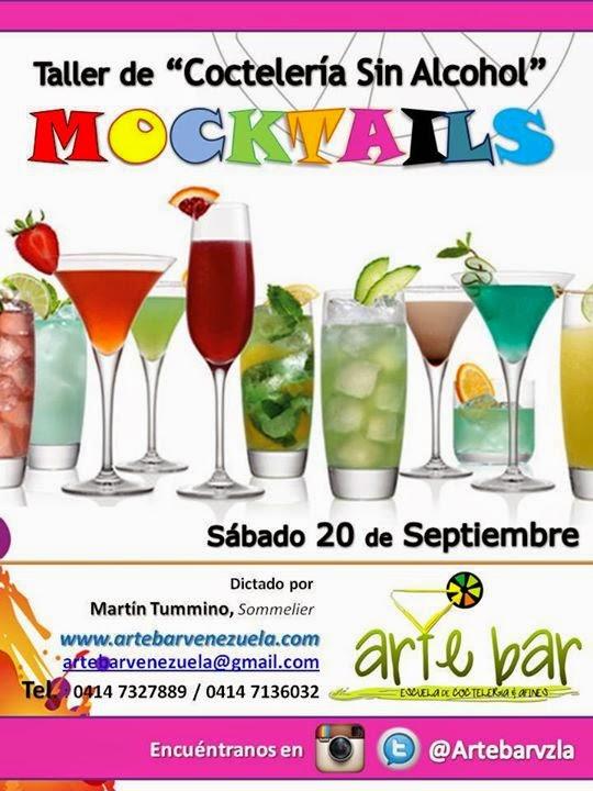 "Taller de Coctelería Sin Alcohol ""Mocktails"""