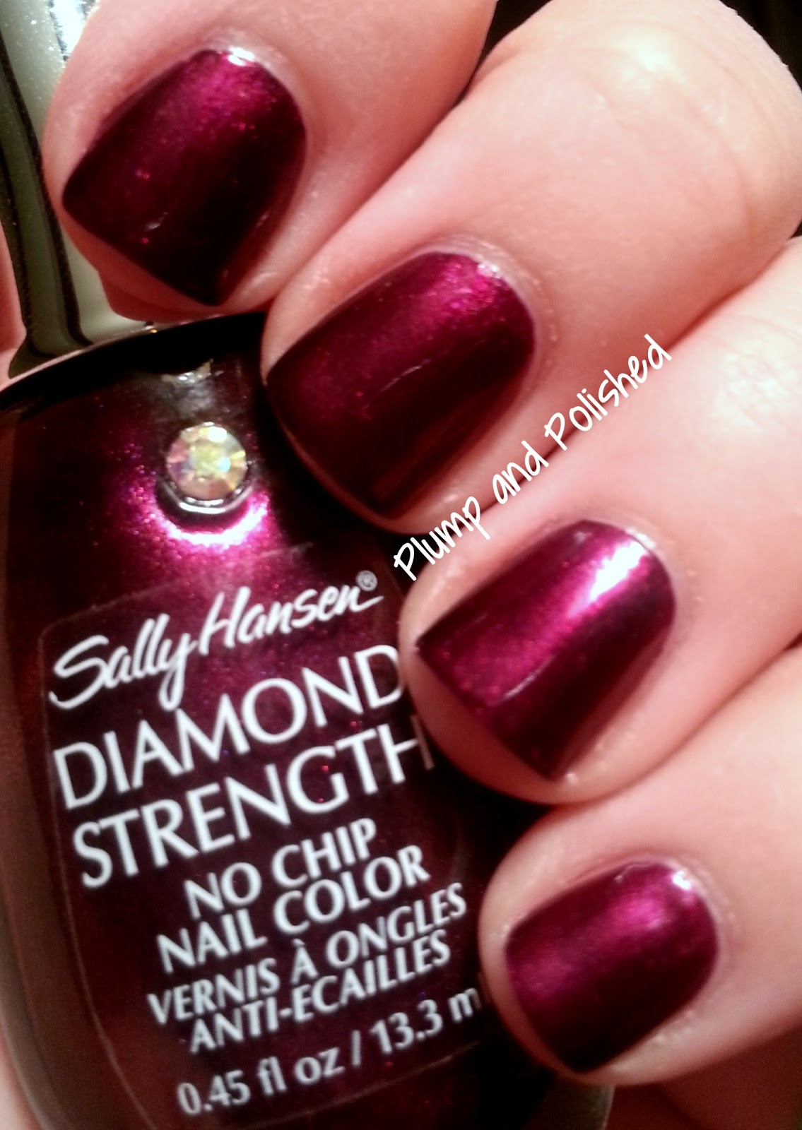 Plump and Polished: Sally Hansen Diamond Strength: Save The Date