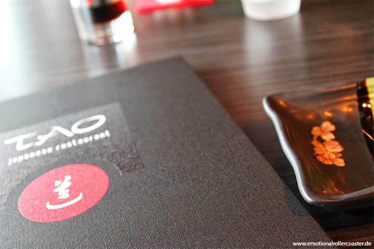 Restaurant Tao, Enschede - Speisekarte