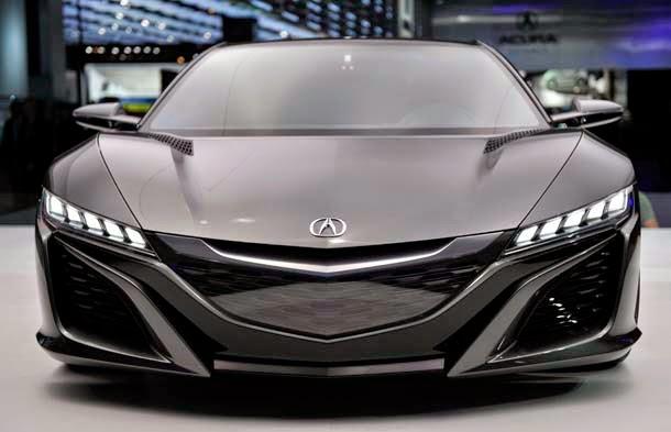 2016 Acura NSX Design