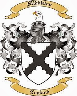 Middleton family crest coat of arms