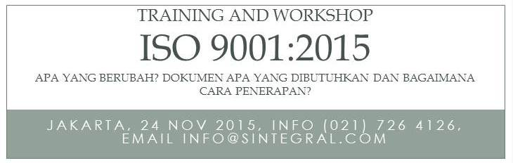 Training ISO 2015