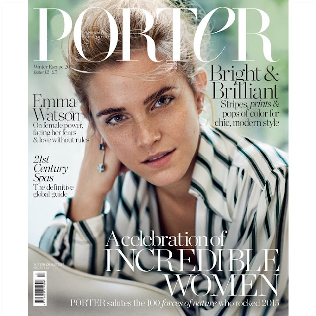 Actress, Model, @ Emma Watson - Cover Porter Magazine, Winter 2015