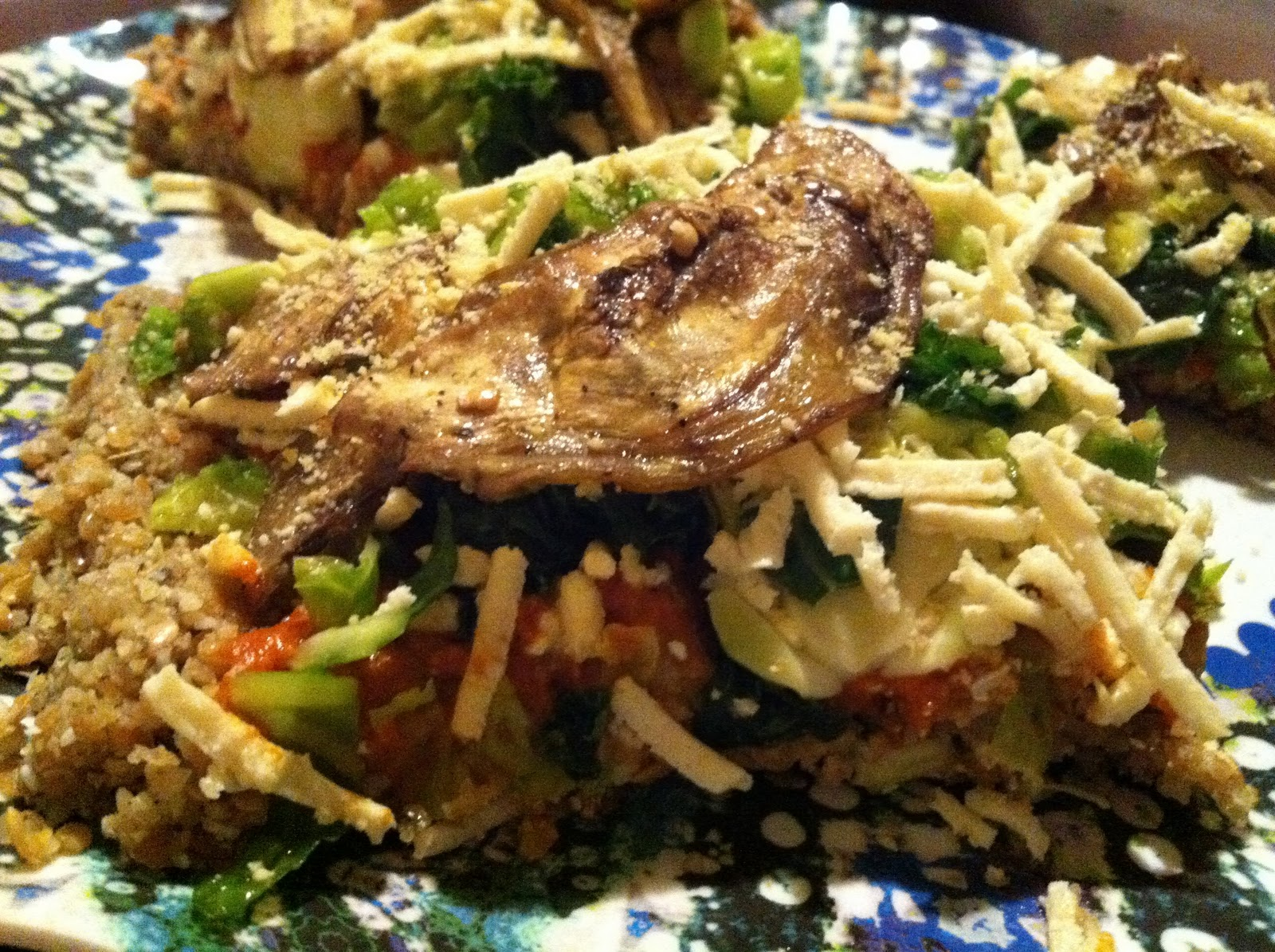 Raw Food Recipe Greens Dessert Sauce
