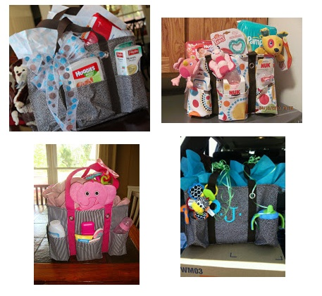 new mom 39 s love the utility totes check out these cute ideas
