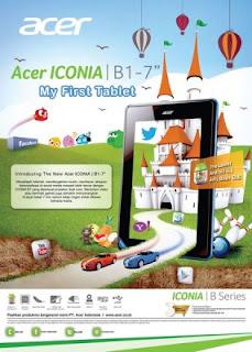 Pre Order Acer Iconia B1 Telah Dibuka