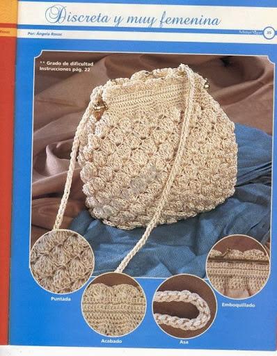 Yeni Moda Bayan Örgü Çanta Modelleri