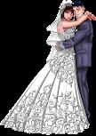 As Bodas no Casamento de 1 a 25 Anos