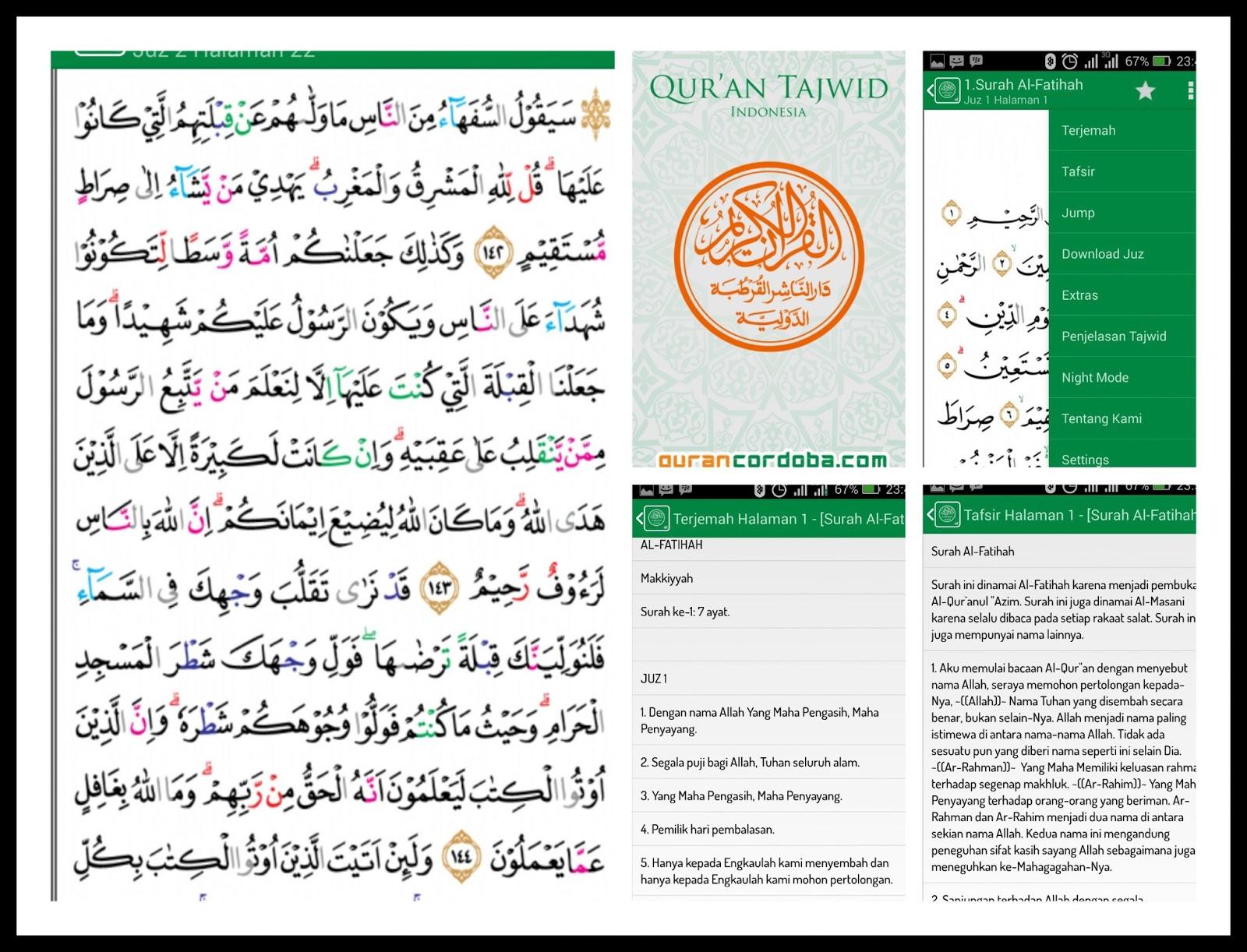 Muat Turun Al Quran Dan Terjemahan Gratis Dan Tajwid