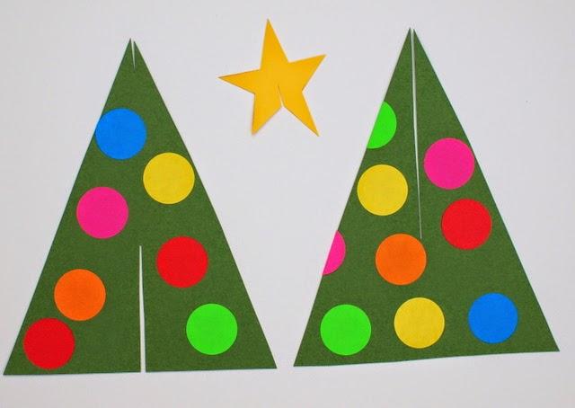 Paper Christmas Tree Printables