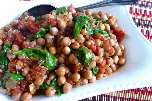 CrockPot Gingered Chickpea and Spicy Tomato Vegan Stew Recipe from ...