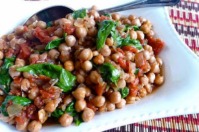 Gingered Chickpea and Spicy Tomato Stew Recipe