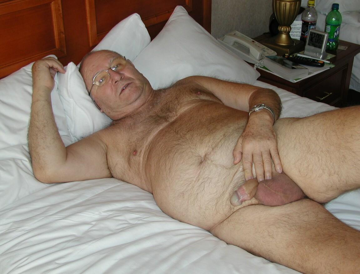 Chubby Bear Gay Hairy Dad Silver Dadies