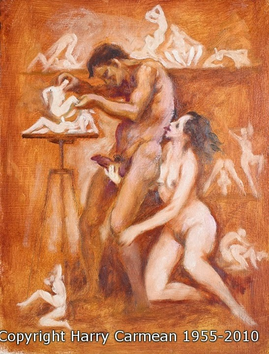 nude and erotic art harry carmean lustful painter and sculptor