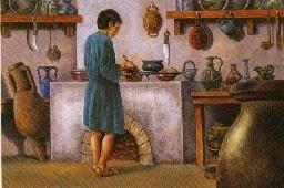 Esclave cuisinier à ses fourneaux
