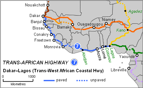 China in africa the real story china to build west african china to build west african coastal highway ccuart Image collections