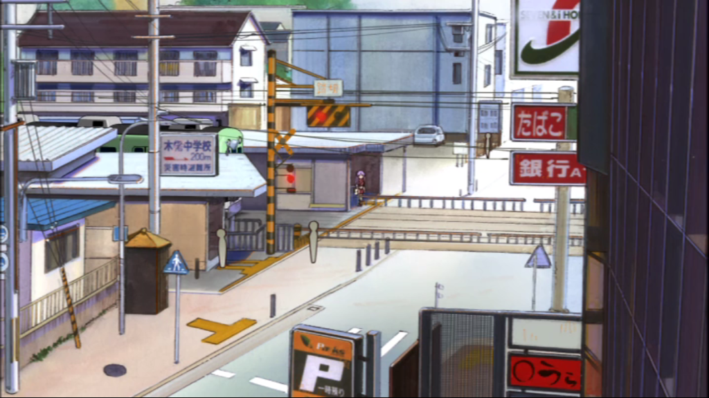Since I Was Already Going Back To The KyoAni Shop Got Some Pictures Of Kowata Station That Shown In Lucky Star This Time Didnt Last