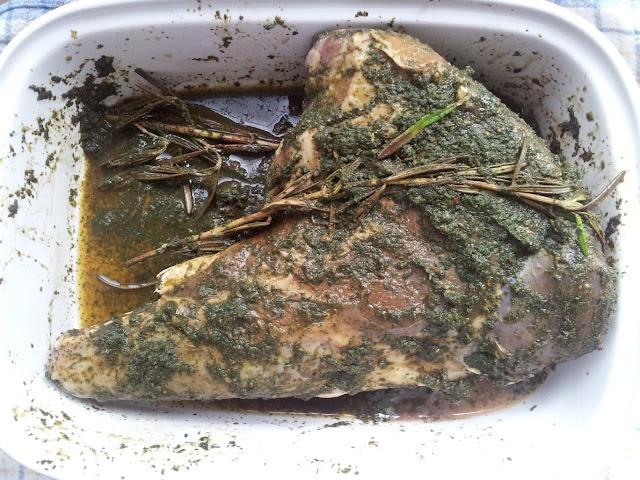 баранина в мятном соусе маринад для мяса английская кухня