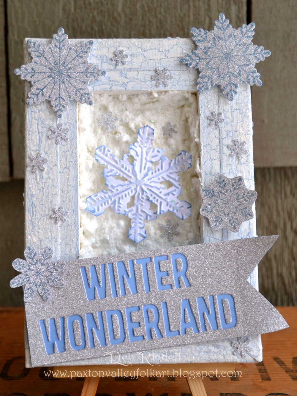 Hello, Decemberu0027s Guest Designer Deb Riddell From Paxton Valley Folk Art  Here To Share A Tutorial With You On How To Create This U0027Winter Wonderlandu0027  Reverse ...