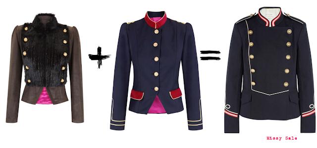 Clon fashion chaquetas de La Condesa vs. Étoile Isabel Marant