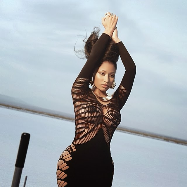 Nicki Minaj imágenes de su próximo vídeo musical