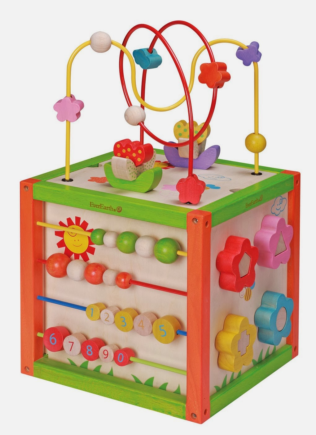Toddlers Activity Cube