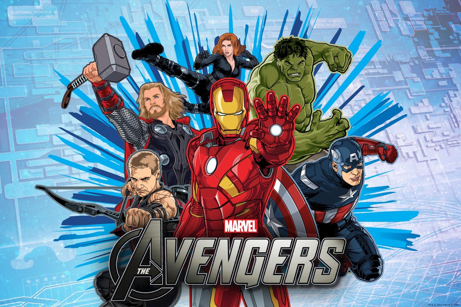 Decoración de Fiestas Infantiles de Los Vengadores o Avengers