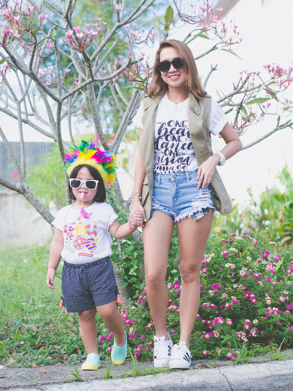 Cebu Fashion Blogger, Sinulog, Sinulog 2016, Sinulog Outfit, OUTFIT OF THE DAY, Mom and Daughter, Cebu Bloggers, Cebu Events, Mommy and Daughter style, Mommy blogger, Cebu lifestyle blog,