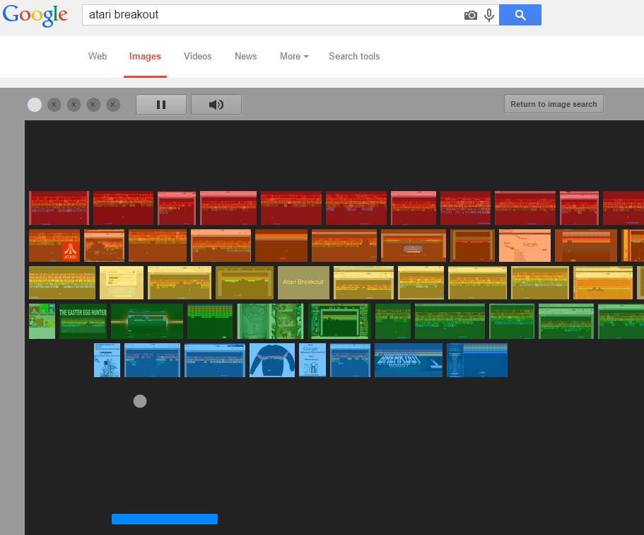Play Atari Breakout On Google Image Search