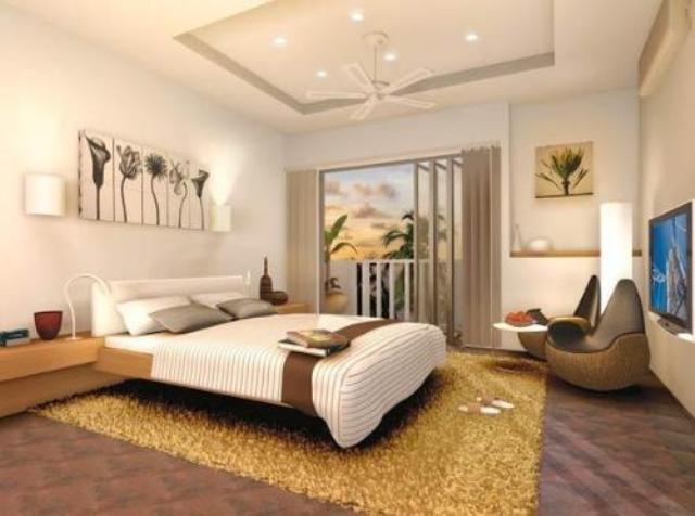 Desain kamar tidur modern gambar rumah idaman Modern minimalist master bedroom