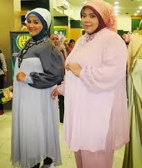 Model Baju Muslim Untuk Orang Gemuk Pendek Sekali