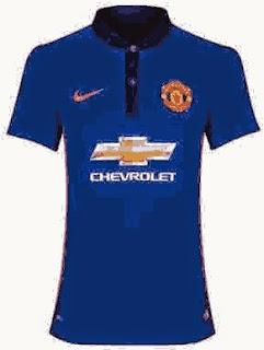 gambar baju bola manchester united third 2014/2015 ladies, jual online, baju bola, jersey grade ori, terbaru