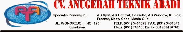 Service cuci ac standart McDonalds Mayjend sungkono