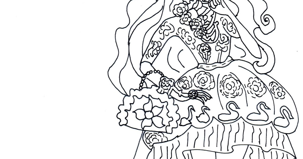 Free Printable Ever After High Coloring Pages Briar Beauty Spring Unsprung Page