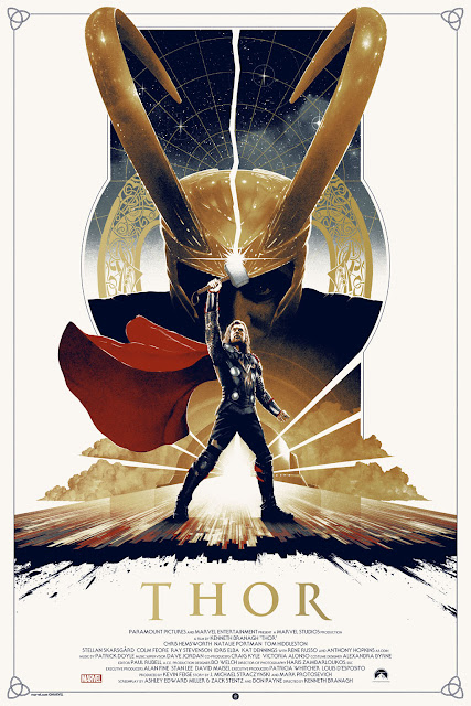 Marvel's Thor Standard Edition Movie Screen Print by Matt Ferguson