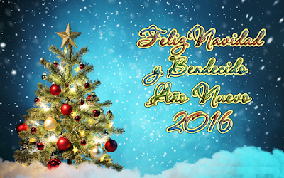 Tarjeta de año nuevo 2016