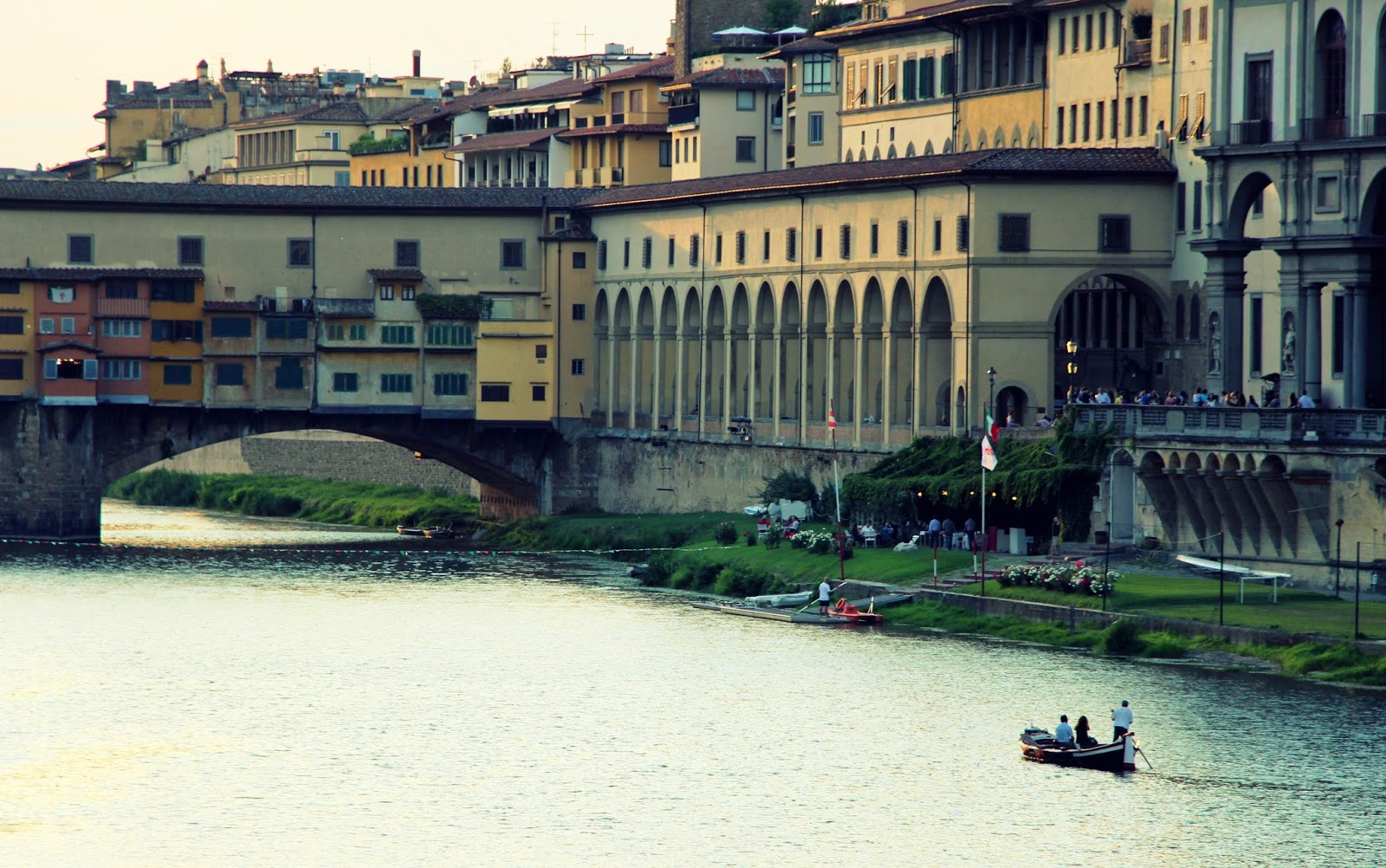 Florence and the River Arno, Italy