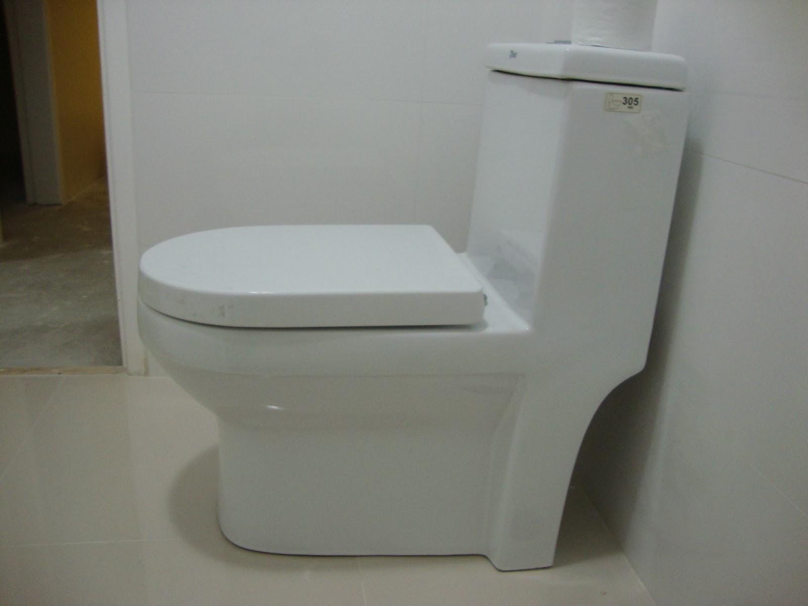 Olha nosso vaso sanitário aí. Hoje cedo foram passar silicone na  #594727 1600x1200 Banheiro Com Pastilha Atras Do Vaso Sanitario