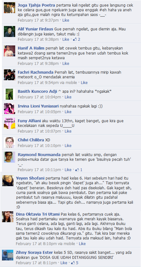 Tolong! Kancut Gue Berdarah!